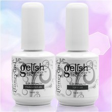 2Pcs Set The Base gel Top Coat gel Nail Polish 15ml Free Shipping