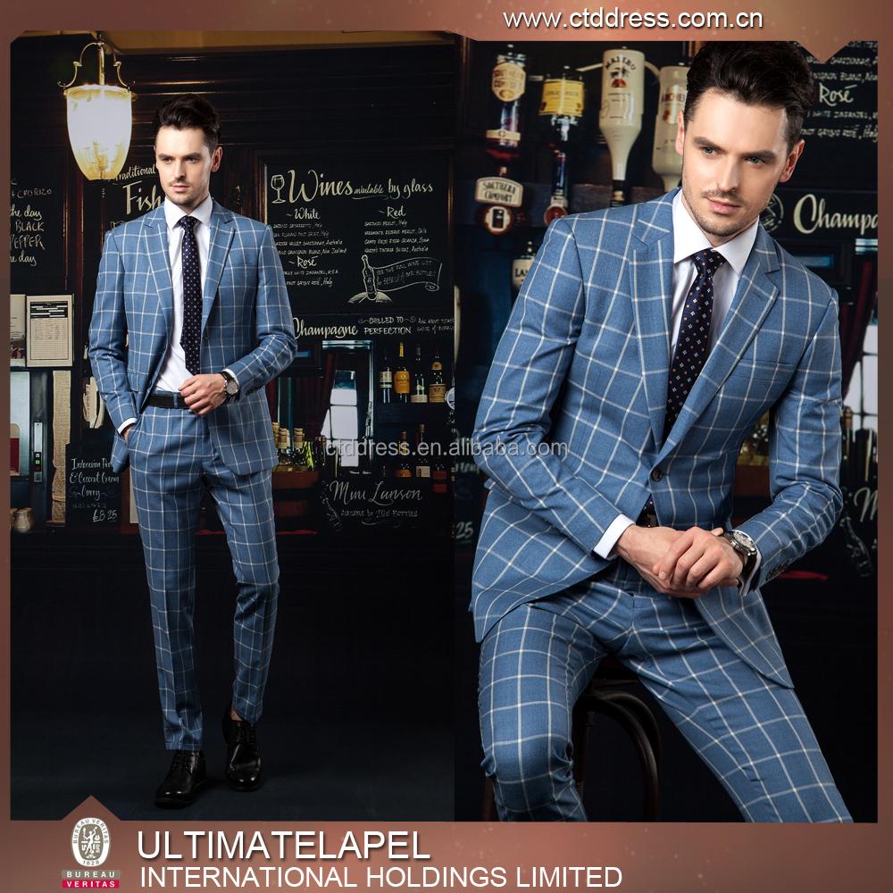 Top Brand Latest Design Coat Pant Men Suit Custom Made Men Suits ...