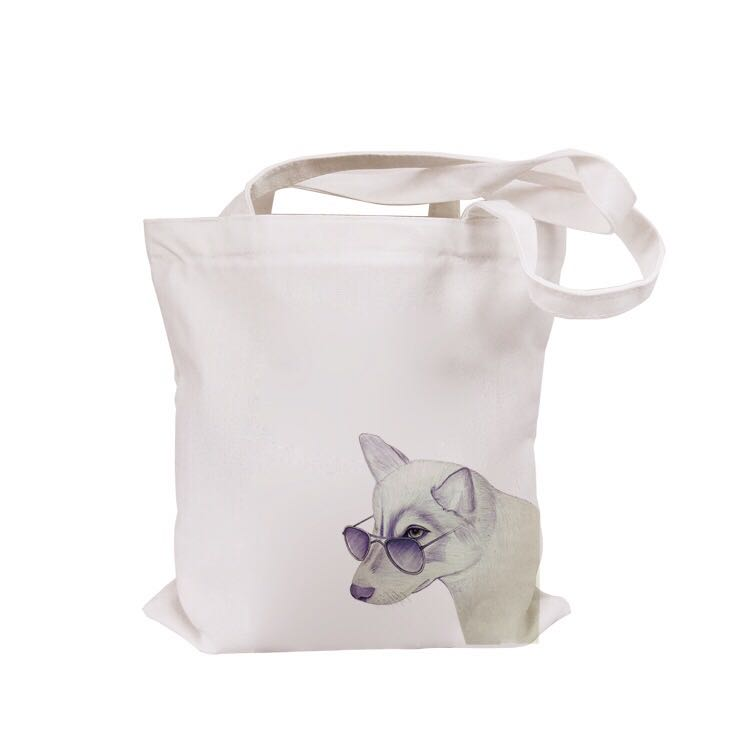 Customized Size Fabric Materia and hot sell custom logo cheap cotton bags