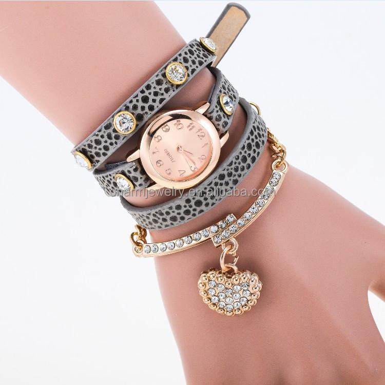 2015 New Fashion Wrap Around Bracelet Watch Crystal Rhinestone Long Leather Women Wrist Quartz Watches Dress Watch Bwl003 Buy Bracelet Watch Crystal Bracelet Watch Leather Women Wrist Product On Alibaba Com