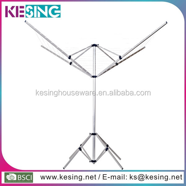 Folding Umbrella Aluminum Clothes Rotary Washing Line