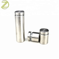 Customized Round Metal Spacers Panel Stainless Standoffs for Glass