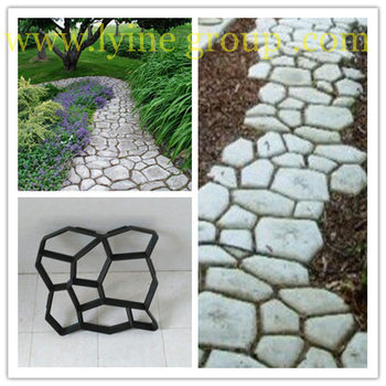 Pathway WalkMaker Paving Patio Concrete Slabs Brick Path Maker Reusable  Paving Brick Mold