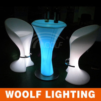led bar furniture modern pub tables and stools