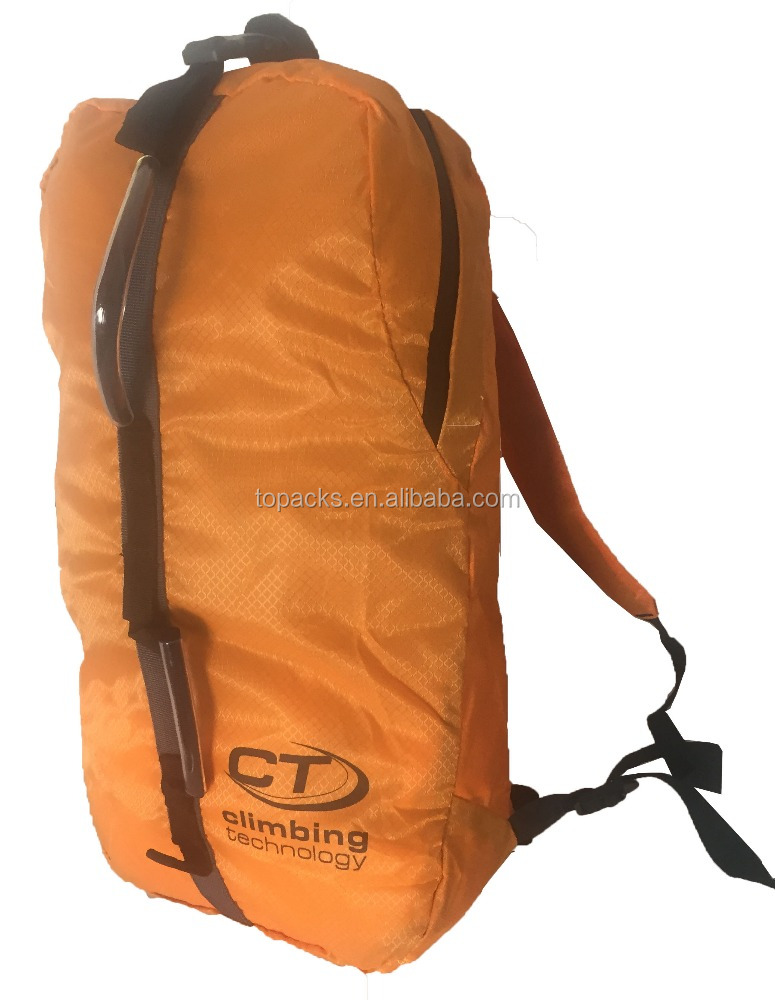 Water Resistant Lightweight Packable Folding Camping Foldable Daypack Net Backpack