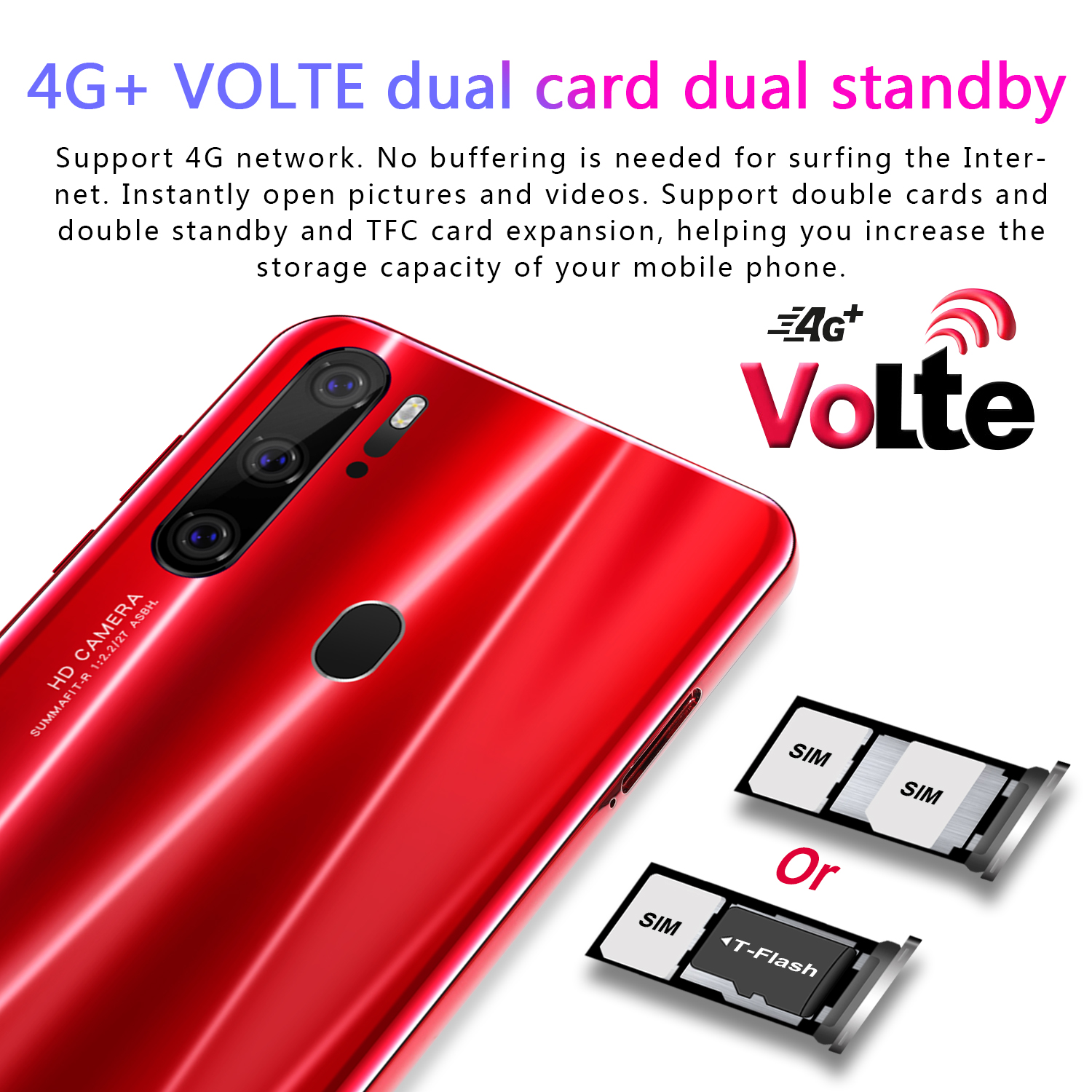 2019 Global Versie Unlocked P35 Pro Smartphone 6.3 Inch 6 Gb + 128G Octa Core Mobiele Telefoons Android OS9.1 mobiele Telefoon