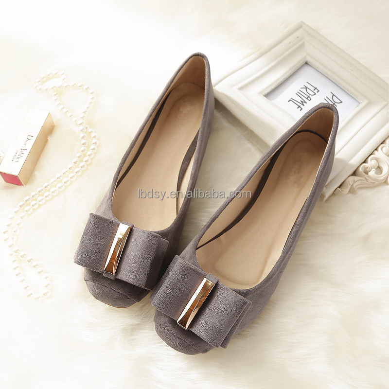 Daily wear shoes women spring/autumn import china shoes