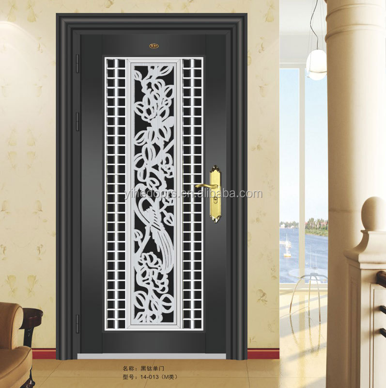 2015 foshan made design exterior steel security bullet proof front door 304ss door for gate andsecurity