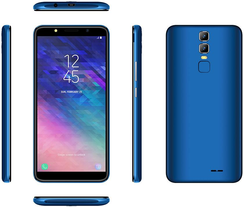 Original Blackview Max11 Android 6.0 smartphone MT6580 Quad Core Mobile <strong>Phone</strong> 5.99 inch 512MB+4GB 2MP 2380mAh cellphone
