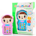 YS2935A English Russian cartoon story machine baby Early learning Phone toy educational toys with music and