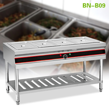Warming Equipment Stainless Steel Electric Hot Food Serving Counter - Electric hot food table
