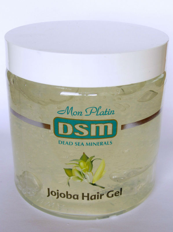 Hair Gel Jojoba 500ml/17oz Mon Platin Dead Sea Mineral DSM Styling All Hair Type Natural Care Beauty Israel For All hair Types