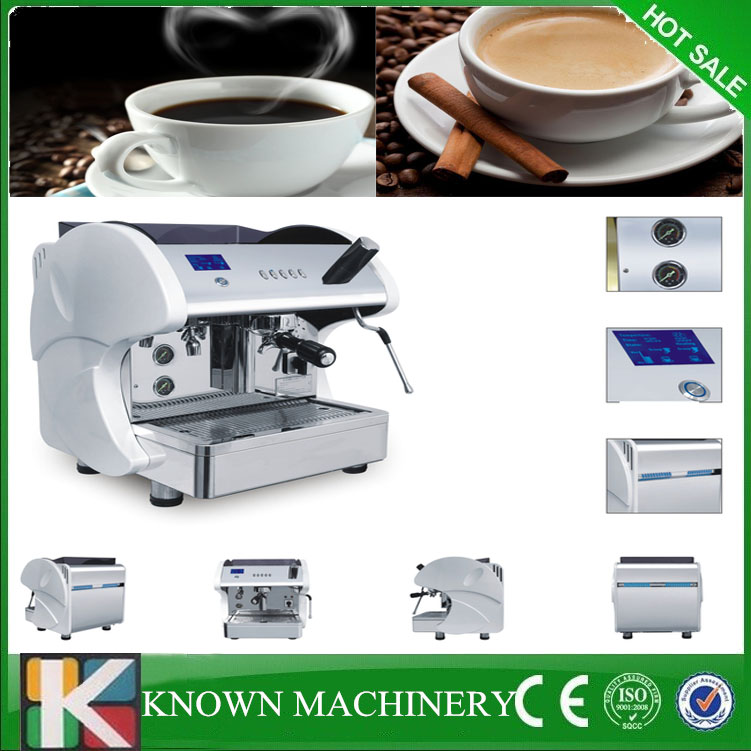 2016 lowest price professional copper exchange boiler system commercial coffee espresso maker for sale