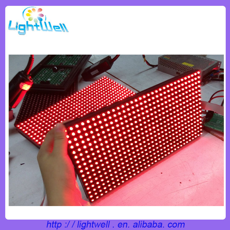 High quality led module p10 single color outdoor led display