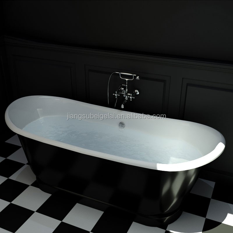 Cast Iron Bateau Bath, Cast Iron Bateau Bath Suppliers and ...