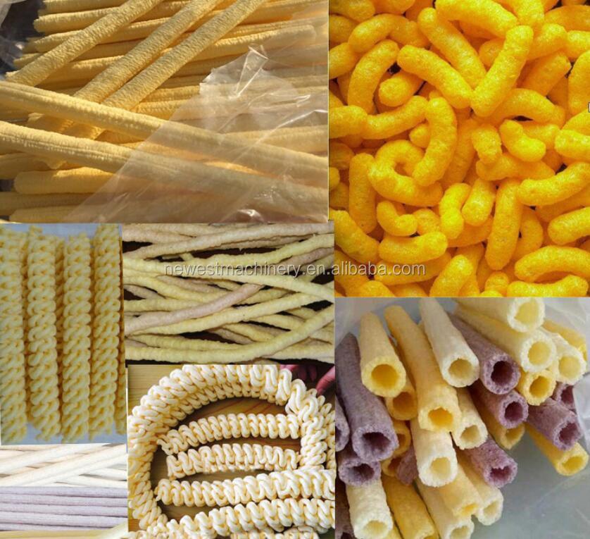 सबसे अच्छा बेच खोखले ट्यूब मकई कश नाश्ता/नाश्ता खाद्य extruding मशीन/मकई नाश्ता extruder
