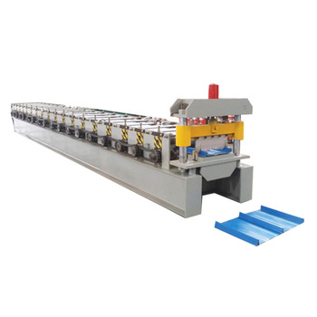 Nail-free standing seam strips lock roofing profile making machine