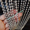 Decorative 6mm Stainless steel ball chain curtain