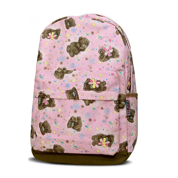Fancy Cool cartoon cotton canvas child backpack rucksack for kids