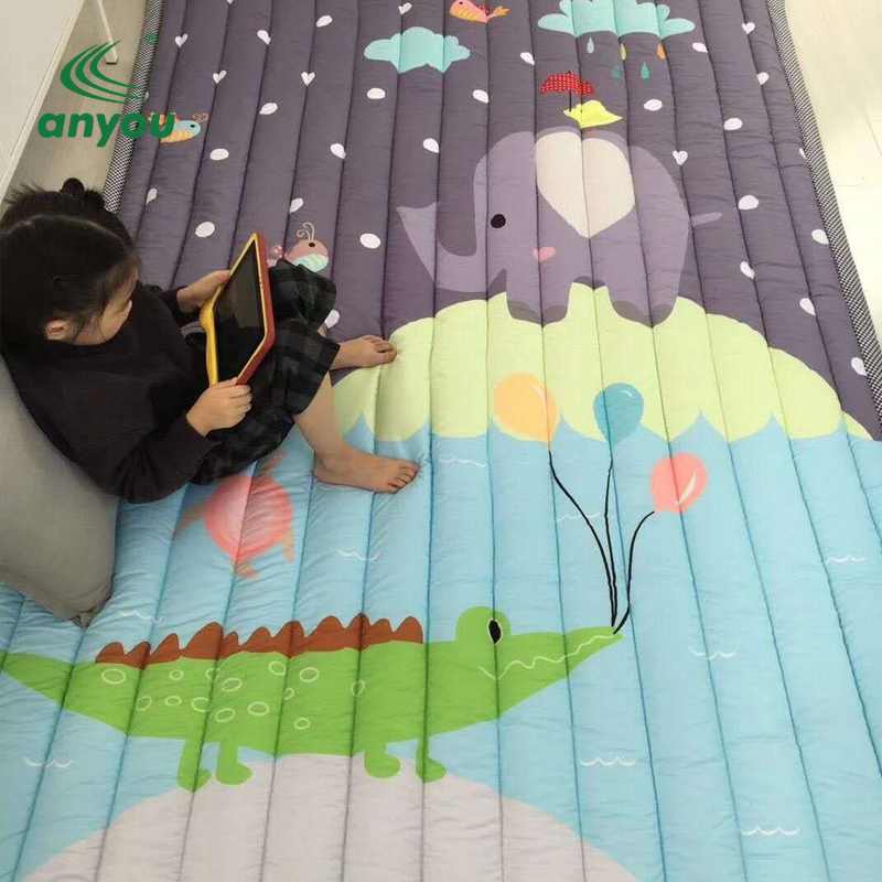 Popular design activity baby play mat with eco-friendly