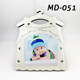High Quality Clothes Shaped Sublimation MDF Baby Picture Frame