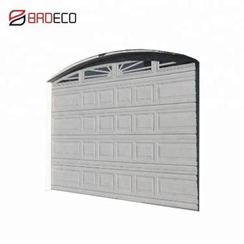 Automatic Commercial Exterior Garage Door Windows That Open