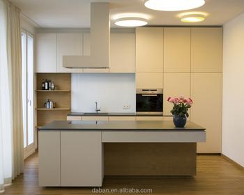 Jisheng Glanz Weiß Küchenschrank Hersteller Design Speisekammer