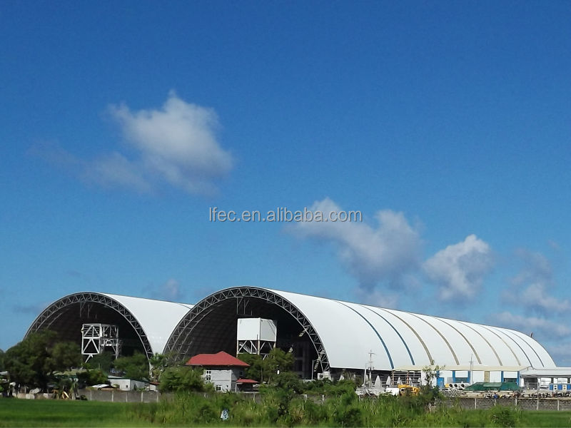 Light Weight Space Frame Steel Structure Roofing
