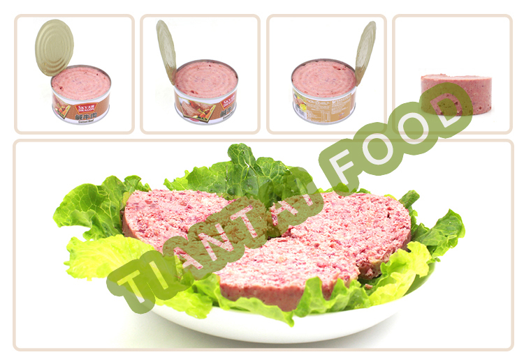 world best selling products box packaging canned meat 340g corned beef canned