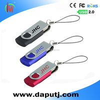 laser logo metal & plastic usb flash drive promotion twister usb memory stick /external hard disk
