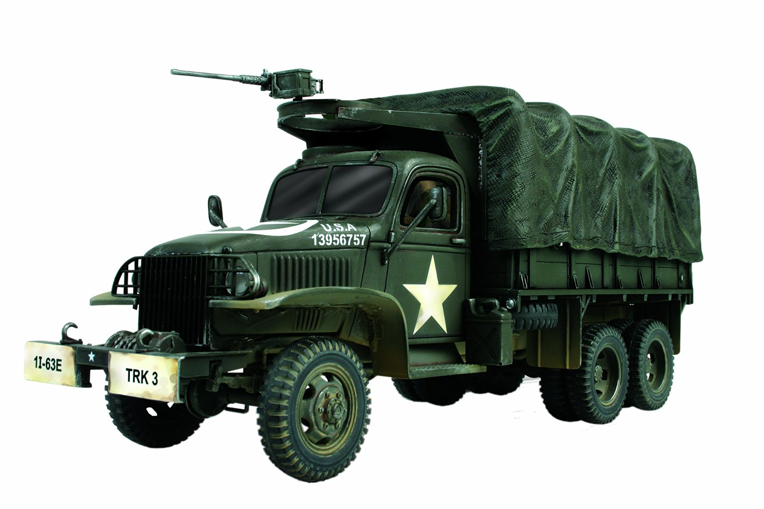 Unimax forces of Valor 1:72Nd Scale U.S. 2½ Ton Cargo Truck