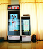 new product transparent LCD display refrigerator/ TLCD refrigerator