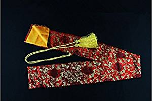 Abosutly royal mountain red Han sword sword sword tai chi sword martial arts silk brocade bags bags bags of high-grade high-grade bag package