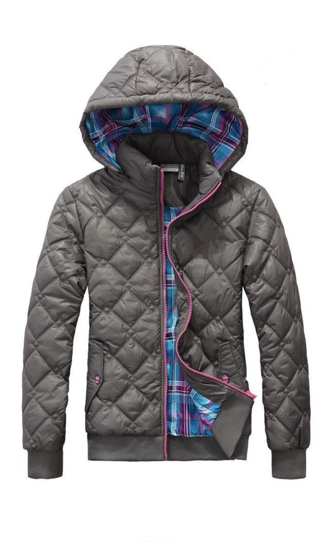 Весна зима пальто / куртка женщины спорт закрытый воротник парки женщин конфеты цвет хлопок - мягкий куртка LG555