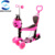 Kids Children 5 IN 1 Lean to steer Kick Mini Scooter With Flashing Wheels