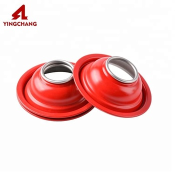 Red color coating tinplate aerosol can cover