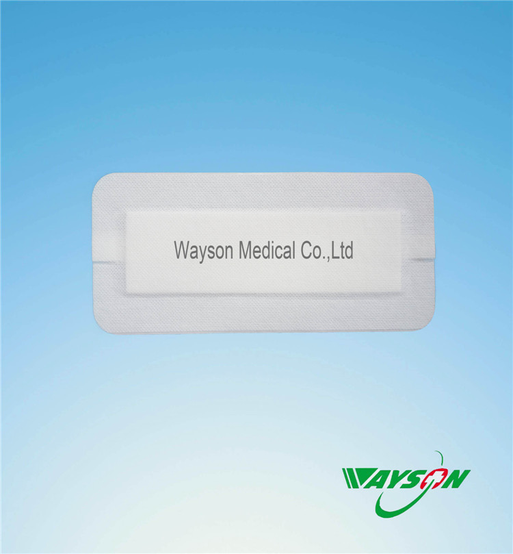 Free sample factory supply nowowen wound dressing island dressing