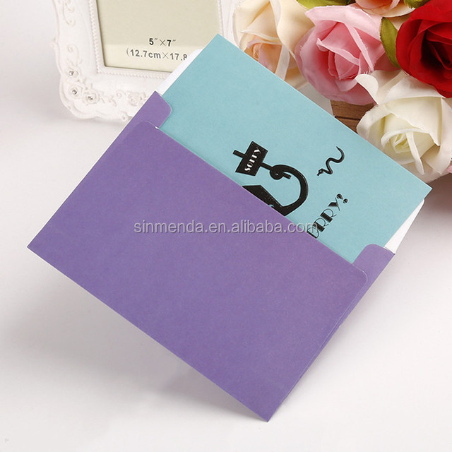 China custom folded cards wholesale alibaba custom colorful print paper folding greeting card with envelopes m4hsunfo
