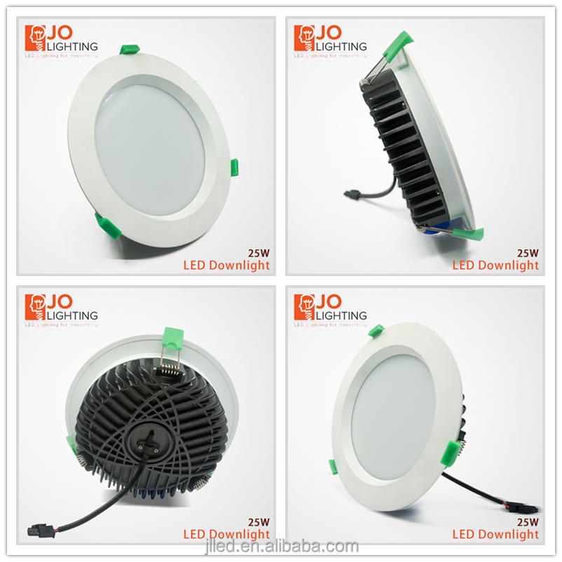 Recessed australia LED Dimmable Downlight high quality wire CE