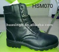 Russia widely used top quality wool lined military winter boots men