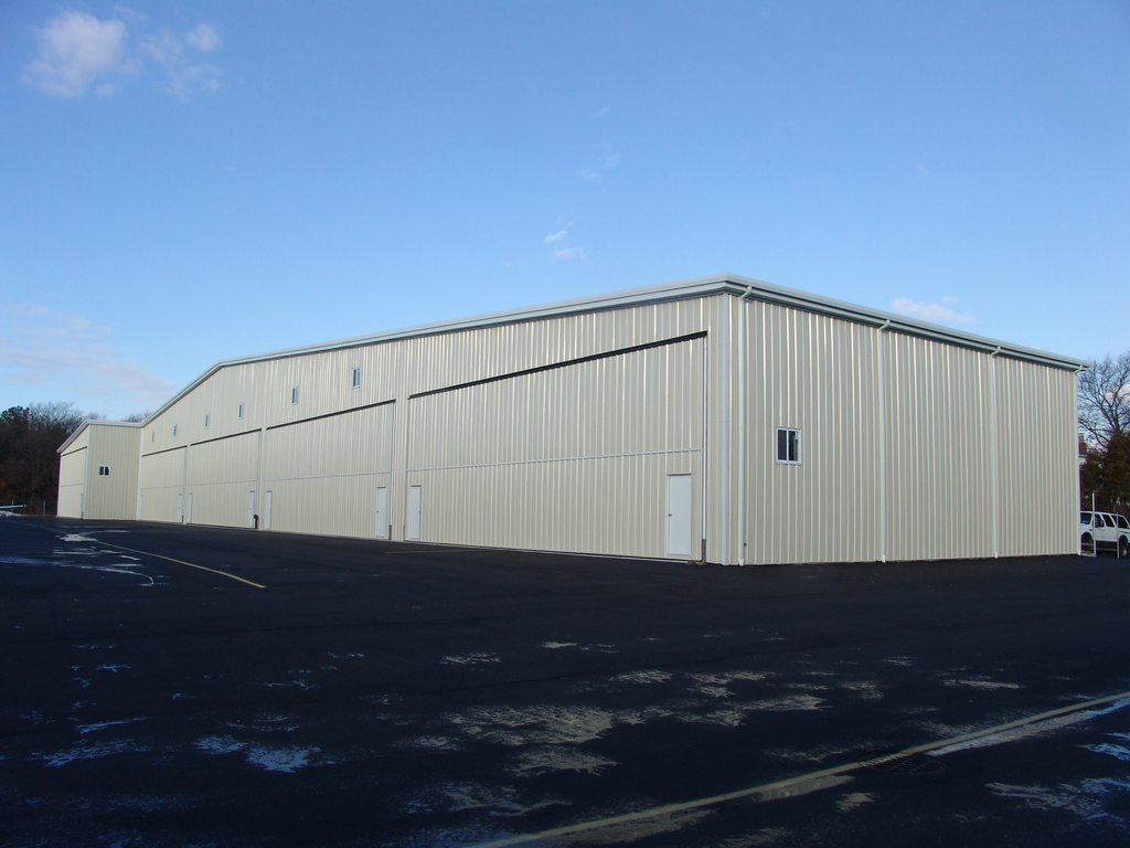 Large Span Pre-Made Metal Steel Industrial Airplane Hangar Shed Building