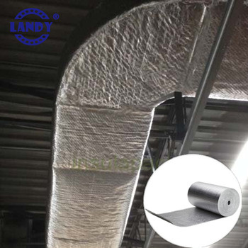 Insulated Rigid Hvac Metal Ac Air Duct Wrap Ductwork Ac