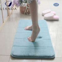 Natural bamboo viscose fiber heat resistant fireproof floor mat