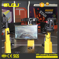 China factory wholesale easy operation game machine 9d vr simulator full flight 9d vr