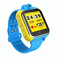 2017 Best sale real time location 3G Wifi GPS kids smart watch mobile phone with camera