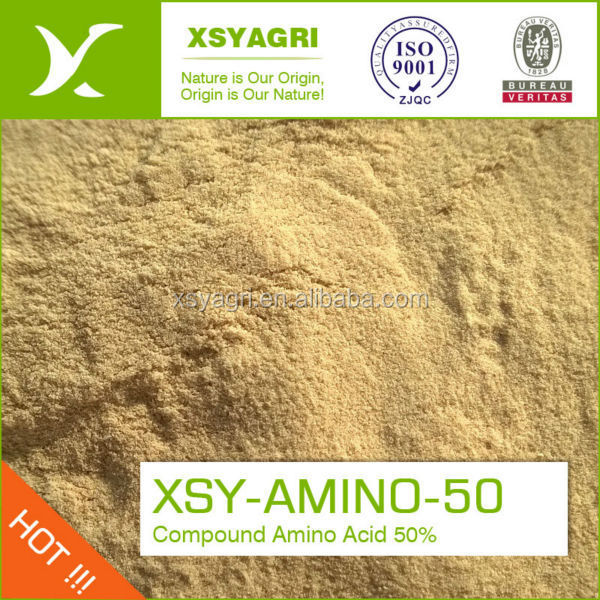 Amino Acid Black Brown Powder Extracted From Natural Protein Hair ...