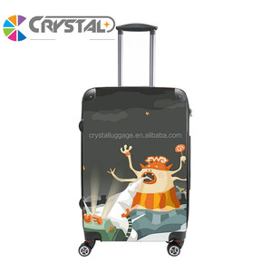 Big brand design PC travel trolley luggage Wholesale OEM Travel Hardshell ABS/PC Trolley Luggage