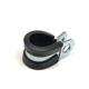 Adjustable galvanized rubber steel P clip