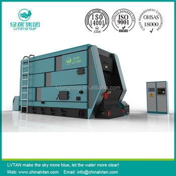 Lvtan Chain Grate Hot Water Boiler Steam Boiler Operation - Buy Wood ...