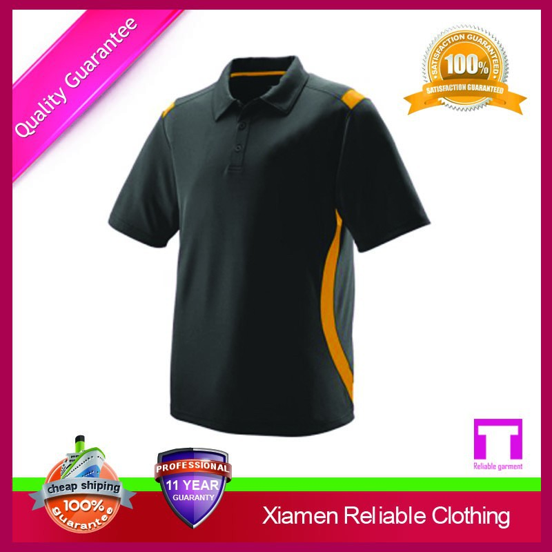 Hot Selling cheap new design polo shirt by Xiamen factory alibaba sports